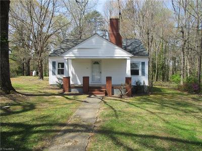 Caswell County Single Family Home For Sale: 2878 Us Highway 158