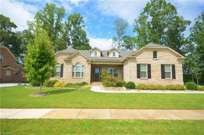 Greensboro Single Family Home For Sale: 6014 New Bailey Trail