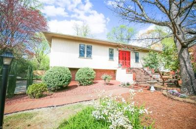 Winston Salem Single Family Home For Sale: 3411 Scarsborough Drive