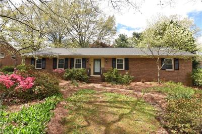 Winston Salem Single Family Home Due Diligence Period: 340 Stanaford Road