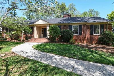 Greensboro Single Family Home For Sale: 1214 Lakewood Drive
