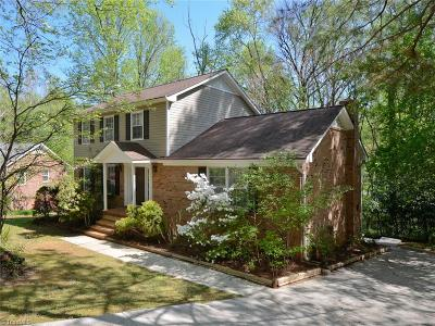 Greensboro Single Family Home For Sale: 940 Greenwood Drive