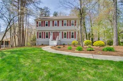 Winston Salem Single Family Home For Sale: 4208 Yeaton Glen Circle