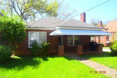 Winston Salem Single Family Home For Sale: 2946 Bon Air Avenue