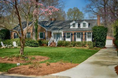 Greensboro Single Family Home For Sale: 3928 Madison Avenue