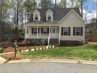 Winston Salem Single Family Home For Sale: 140 Cool Water Court