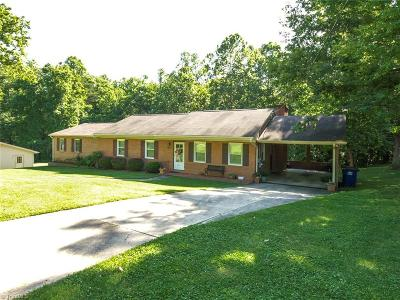 Winston Salem Single Family Home For Sale: 4409 Winnabow Road