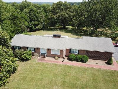 Rockingham County Single Family Home For Sale: 2100 Nc Highway 135