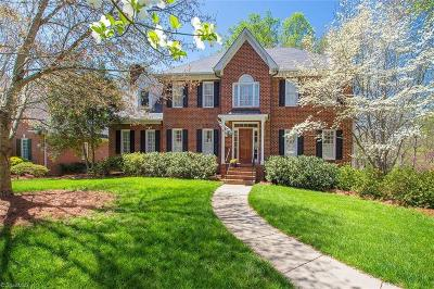 Winston Salem Single Family Home For Sale: 4220 Saddlewood Forest Drive