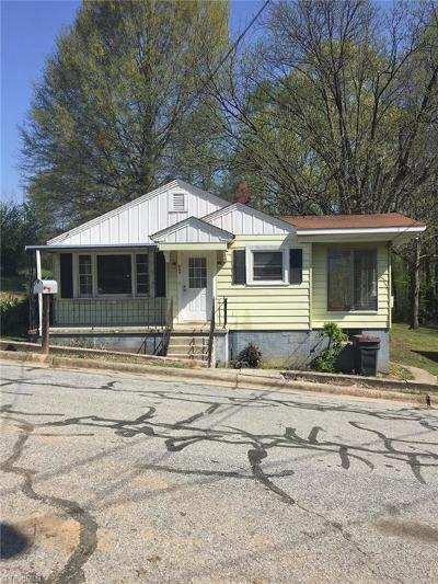 Reidsville NC Single Family Home For Sale: $39,400