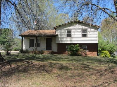 Rockingham County Single Family Home Due Diligence Period: 790 Mineral Springs Road