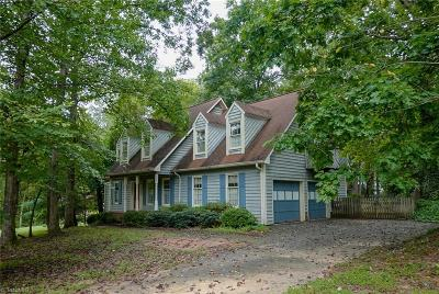 Winston Salem Single Family Home For Sale: 2417 Tannery Trail