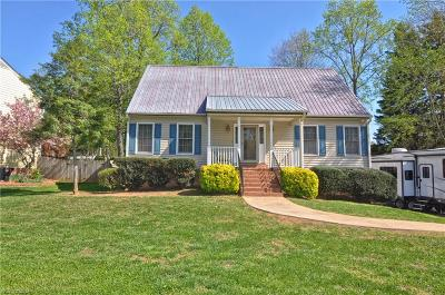 Winston Salem Single Family Home For Sale: 4124 Benton Creek Drive