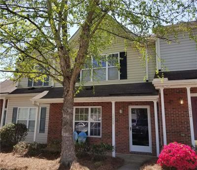Winston Salem NC Condo/Townhouse For Sale: $103,500