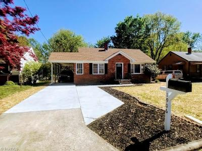 Greensboro Single Family Home For Sale: 1906 White Street