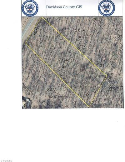Denton NC Residential Lots & Land For Sale: $15,000