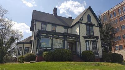 Winston Salem Single Family Home For Sale: 102 S Cherry Street