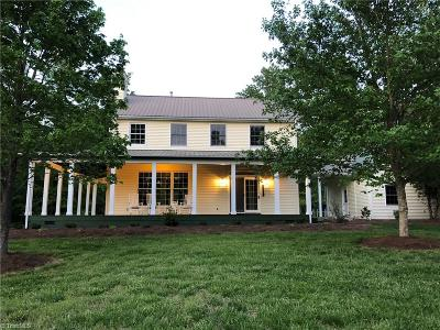McLeansville Single Family Home For Sale: 6721 McLeansville Road