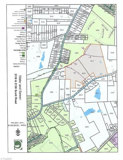 Browns Summit Residential Lots & Land For Sale: 2136 Scott Road