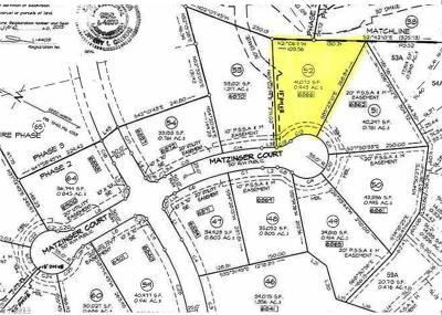 Oak Ridge Residential Lots & Land For Sale: 6866 Matzinger Court