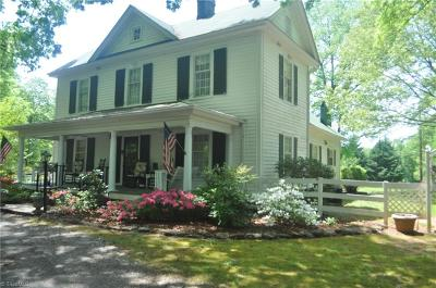 Reidsville Single Family Home For Sale: 1308 Flat Rock Road