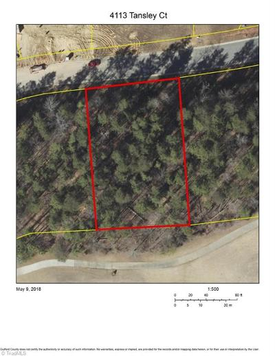 Greensboro Residential Lots & Land For Sale: 4113 Tansley Court