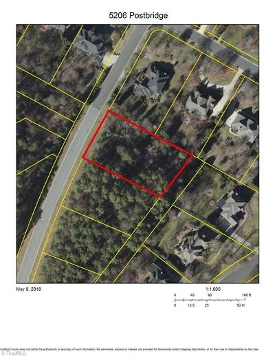 Greensboro Residential Lots & Land For Sale: 5206 Postbridge Drive