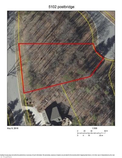 Greensboro Residential Lots & Land For Sale: 5102 Postbridge Drive