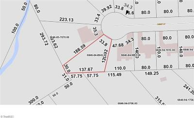 Winston Salem Residential Lots & Land For Sale: 3608 Turret Court