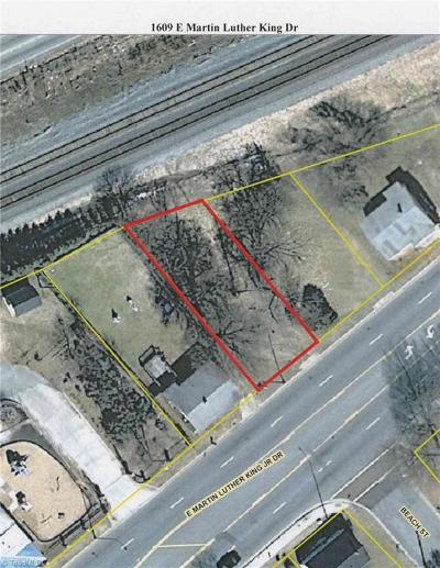High Point Residential Lots & Land For Sale: 1609 E Martin Luther King Jr Drive