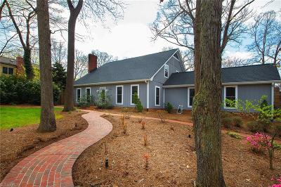 Winston Salem Single Family Home For Sale: 2564 Robinhood Road