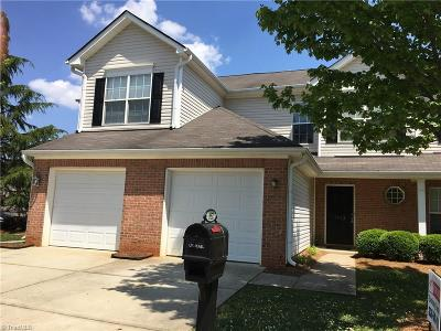 High Point Condo/Townhouse For Sale: 3952 Fountain Village Lane