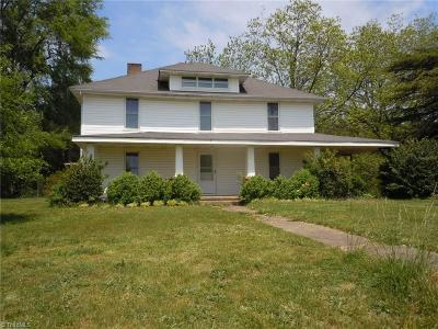 Statesville Single Family Home For Sale: 1334 Island Ford Road #Tract A