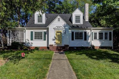 Reidsville NC Single Family Home For Sale: $156,900