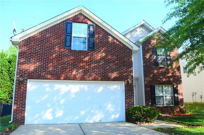 High Point Single Family Home For Sale: 3936 Fountain Grove Drive