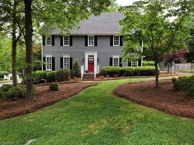 High Point Single Family Home For Sale: 1701 Heathcliff Road
