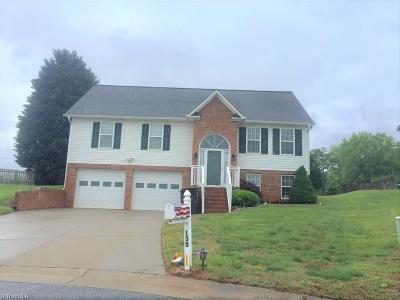 Kernersville Single Family Home Due Diligence Period: 150 Fiddlers Run Court