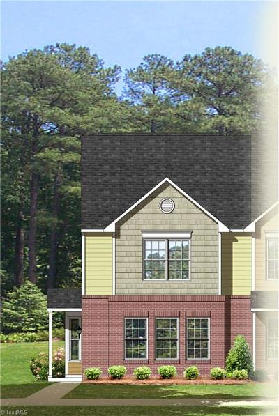 Whitsett Condo/Townhouse For Sale: 6327 Bermuda Way