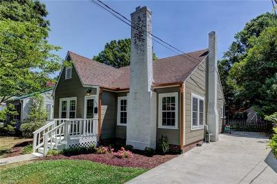 Alamance County Single Family Home Due Diligence Period: 531 Central Avenue