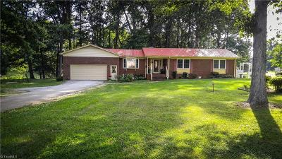 Browns Summit Single Family Home For Sale: 5837 Rudd Station Road