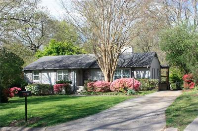 Greensboro Single Family Home For Sale: 1307 Lakewood Drive