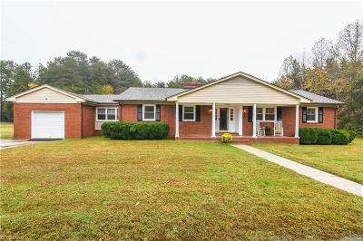 McLeansville Single Family Home For Sale: 1303 Mount Hope Church Road