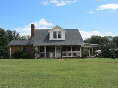 Rockingham County Single Family Home For Sale: 562 Nc Highway 770