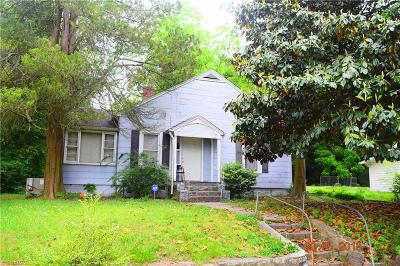 Winston Salem Single Family Home For Sale: 2411 Sink Street