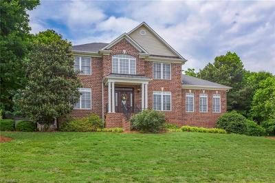 Guilford County Single Family Home For Sale: 6619 Stonecroft Drive
