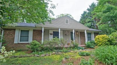 Winston Salem Single Family Home For Sale: 238 Foxcroft Drive