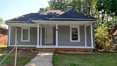 Winston Salem Single Family Home For Sale: 2447 Lomond Street