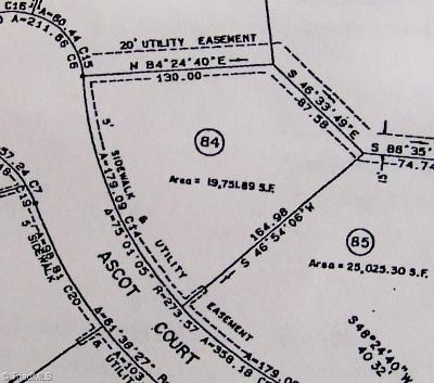 Guilford County Residential Lots & Land For Sale: 1202 Ascot Court