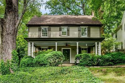 Winston Salem Single Family Home For Sale: 709 Manly Street