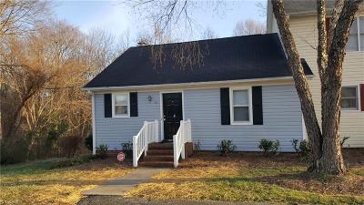 Greensboro Condo/Townhouse Due Diligence Period: 1183 Glendale Drive